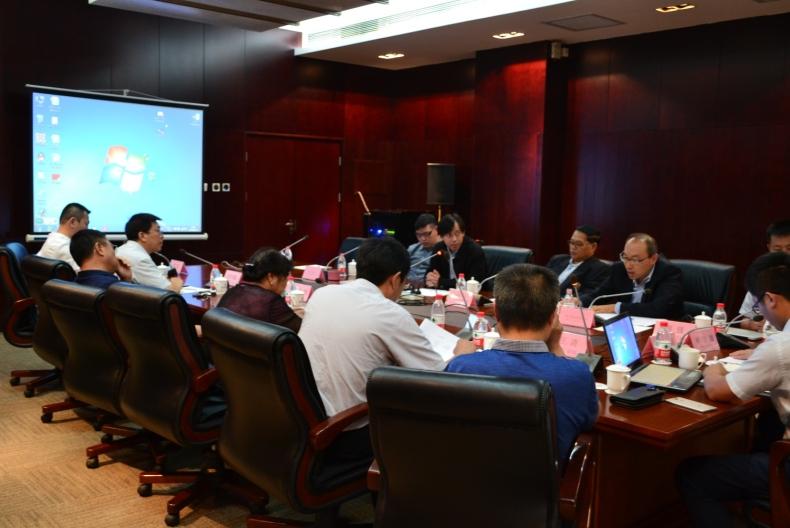 泰国易三仓大学董事局、副校长及教务长等校领导一行来访北京中科瀚林信息技术研究院