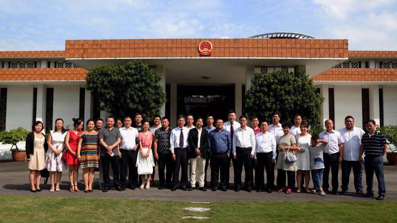 北京中科瀚林信息技术研究院率领高校代表访问驻马来西亚大使馆