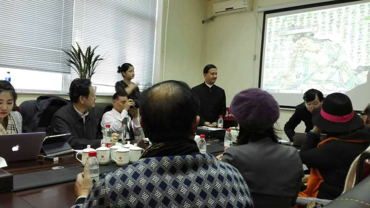 国父孙中山嫡孙孙武彦来访北京中科瀚林信息技术研究院