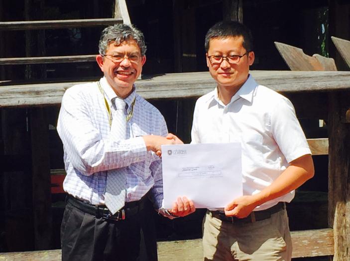 马来西亚苏丹再纳阿比汀大学校长与北京中科瀚林信息技术研究院达成合作共识